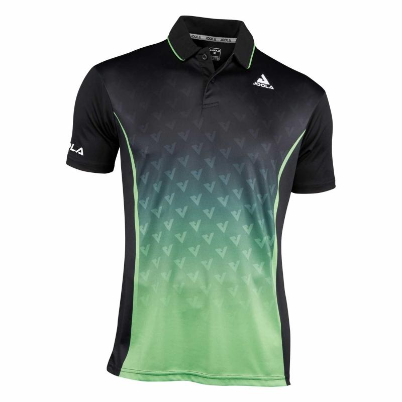 Joola Shirt Viro zwart-groen