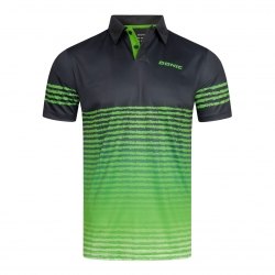 Donic Shirt Libra zwart-groen