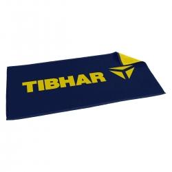 Tibhar Handdoek T navy-geel