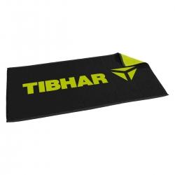 Tibhar Handdoek T zwart-groen