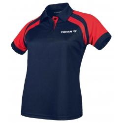 Tibhar Shirt Lady World navy-rood