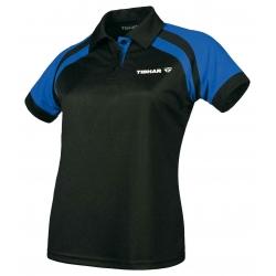 Tibhar Shirt Lady World zwart-blauw