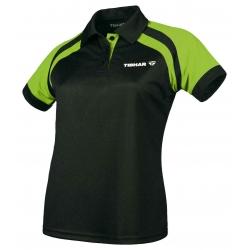 Tibhar Shirt Lady World zwart-groen