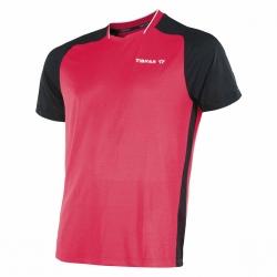 Tibhar T-Shirt Pro rood-zwart
