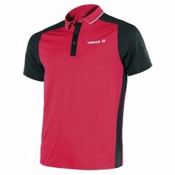 Tibhar Shirt Pro rood-zwart