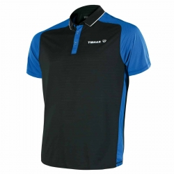 Tibhar Shirt Pro zwart-blauw