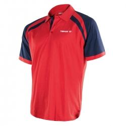 Tibhar Shirt World rood-navy