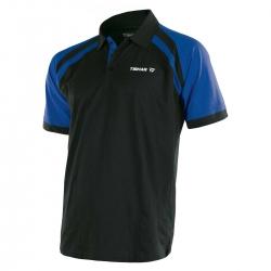 Tibhar Shirt World zwart-blauw