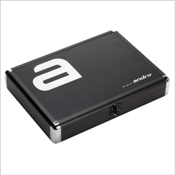 Andro Alu Case Alpha * Zwart