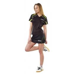 Joola shirt Mesa Lady zwart-groen