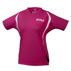 Joola Shirt Motion Lady paars-zwart