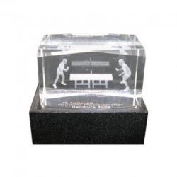 Glas-laser blok