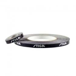 Stiga Zijkantband zwart-wit 9 mm x 5 m