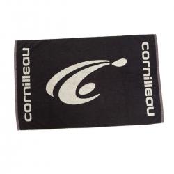 Cornilleau Handdoek Logo zwart-wit