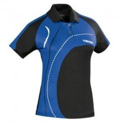 Tibhar Shirt Lady Tour zwart-blauw