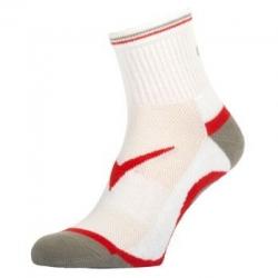 Gewo Sokken Flex wit-rood
