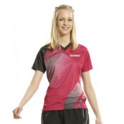 Gewo Shirt Trend Women rood-zwart