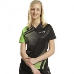 Gewo Shirt Trend Women zwart-groen