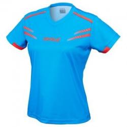Joola Shirt Cuneo Lady lichtblauw-rood