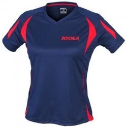 Joola Shirt Matera Lady navy-rood