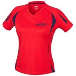 Joola Shirt Matera Lady rood-navy