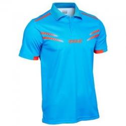 Joola Shirt Cuneo lichtblauw-rood