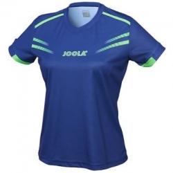 Joola Shirt Cuneo Lady navyblauw-groen
