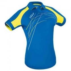 Tibhar Shirt Lady Grip blauw-geel