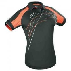 Tibhar Shirt Lady Grip zwart-oranje