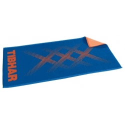 Tibhar Handdoek TripleX blauw-oranje
