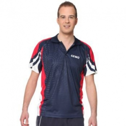 Gewo Shirt Cliff navy-rood