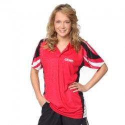 Gewo Shirt Cliff rood-zwart