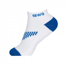 Gewo Sokken Kort Flex wit-blauw wit-blauw