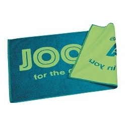 "Joola Handdoek ""For the Champion in you"" blauw-groen"