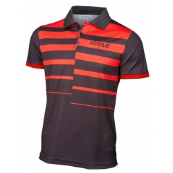 Joola Shirt Linares Polyester zwart-rood