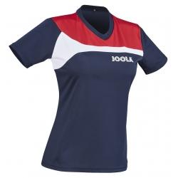 Joola Shirt Padova Lady navy-rood