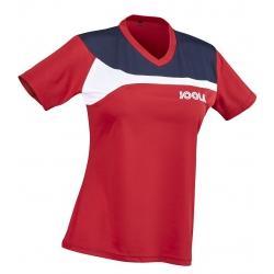 Joola Shirt Padova Lady rood-navy