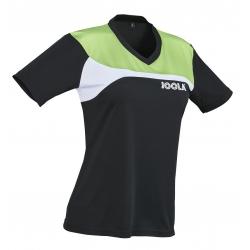 Joola Shirt Padova Lady zwart-groen