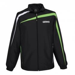 Gewo Trainingsvest Pit zwart-groen
