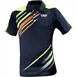 TSP Shirt Anero zwart-lime-oranje