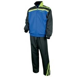 Tibhar Trainingsbroek Stripe blauw-zwart-groen