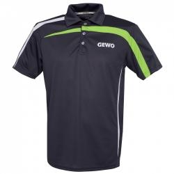 Gewo Shirt Primus Polyester antraciet-groen