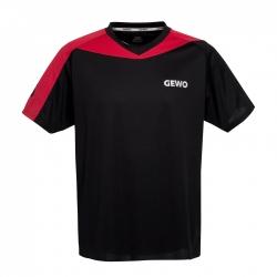 Gewo T-Shirt Rocco zwart-rood