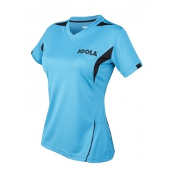 Joola Shirt Falk Lady petrolblauw-zwart