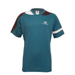 Cornilleau T-Shirt Action blauw-grijs-wit