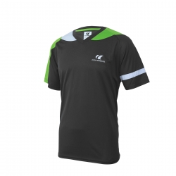 Cornilleau T-Shirt Action grijs-lime-wit