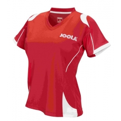 Joola Shirt Emox Lady rood-wit