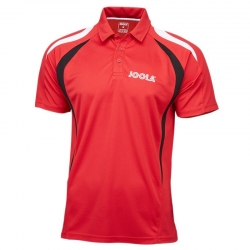 Joola Shirt Squadra Polyester rood-zwart