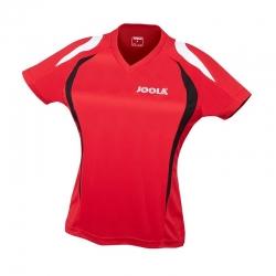 Joola Shirt Squadra Lady rood-zwart