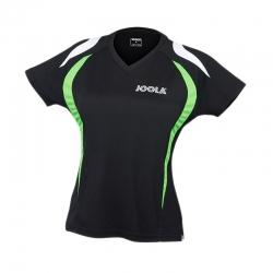 Joola Shirt Squadra Lady zwart-groen